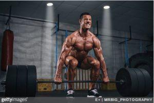 entrainement intense - musculation