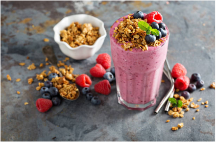 shaker de proteine le matin