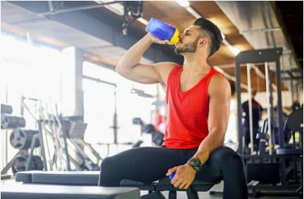 shaker de protéines post-entrainement musculation