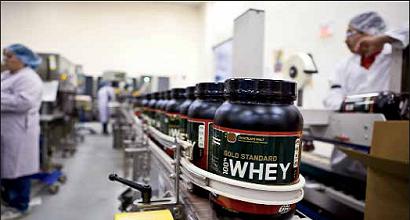 Fabrication Whey proteine